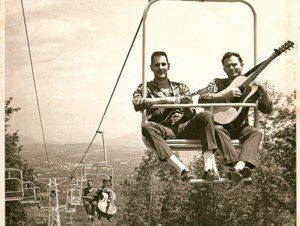Country Gentlemen, June 1964, Lenox, MA Ski Lift