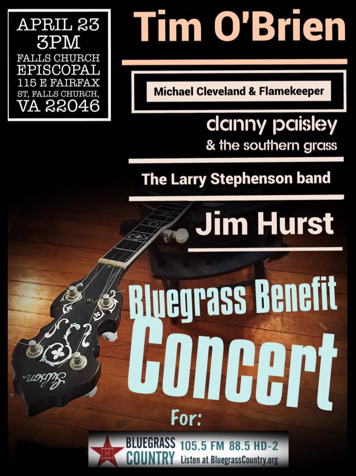 Bluegrass Country Radio Benefit Concert