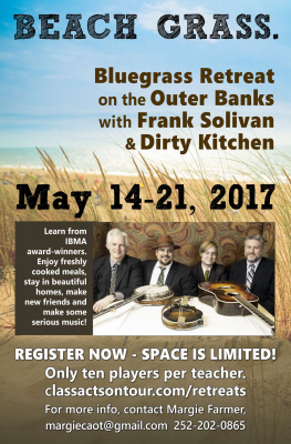 Beach Grass Retreat with Frank Solivan & Dirty Kitchen