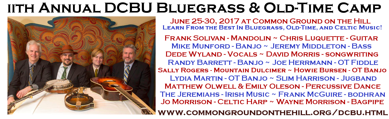 2017 DCBU Bluegrass and Old-Time Camp
